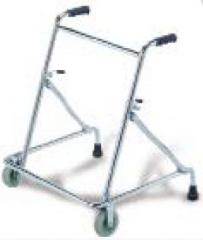 The fixed walkers for adults from aluminum on 2