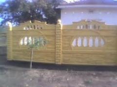 Заборы бетонные,железобетонные заборы,панельные