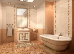 Плитка керамическая для ванной комнаты коллекция