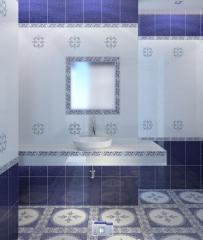Плитка мозаика для ванной комнаты Kоллекциa София