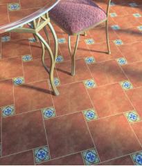 Плитка на пол керамическая коллекция Анастасия