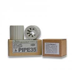 Tubes ceramic EM-X gray 35mm Ø