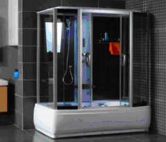 Shower cabin with radio Cabina de dus CRISTAL
