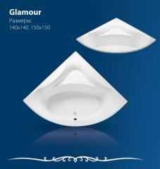 Ванна акриловая Cada acril Glamour