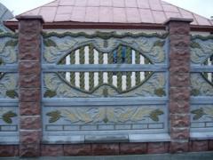 Gard cu doua fete, gard bilateral,gard european