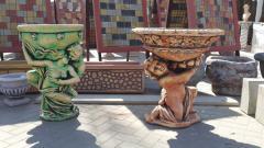 Вазоны,бетонные вазоны,декоративные вазоны