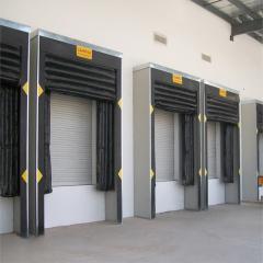 Inflatable germetizator of doorways