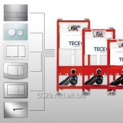 Панель смыва TECE для модуля подвесного унитаза