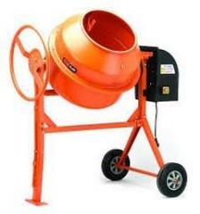 Concrete mixers - 120 l., 140 l., 160 l., 180 l.