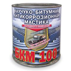 Мастика «БКМ-100» АНТИКОРРОЗИОННАЯ МАСТИКА КАУЧУКО-БИТУМНАЯ