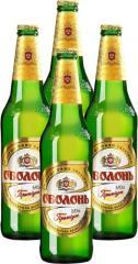 Пиво светлое -Оболонь премиум (Украина)