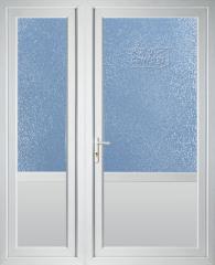 Двери из металлопластика для частного дома