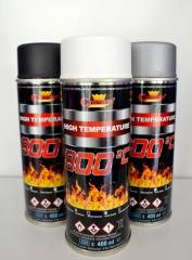 Краска аэрозольная высокотемпературная  до + 800 °С