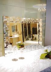 Mirror in a corridor
