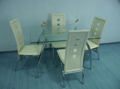Dining table from DT1-005 glass