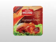 Реторт упаковка для продуктов питания