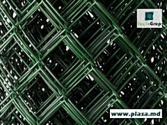 Plasa pentru gard cu Pvc.Setka for fences with PVH a covering