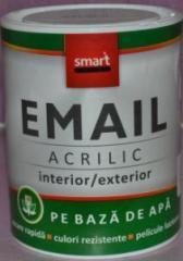 Enamel acrylic color