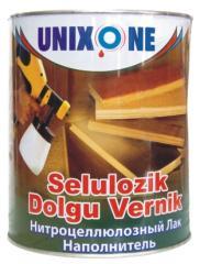 Nitrocellulose soil varnish poronapolnitel