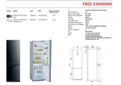 Free Standing refrigerator