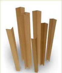 Уголки картонные защитные