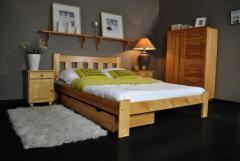 Кровати модель БРИТА 90х200