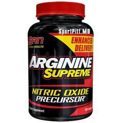 Аминокислоты ARGININE SUPREME 100 капсул