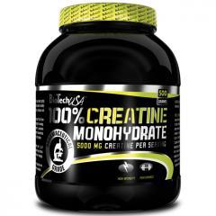 Креатины 100% MONOHYDRATE 500 грамм