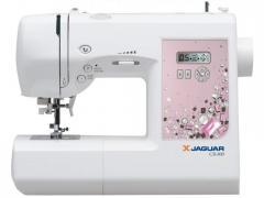 Машины бытовые швейные    Компьютеризированная швейная машина JAGUAR CR-800 (100 строчек, 7 видов петель, нитевдеватель, дисплей, работает без педали)