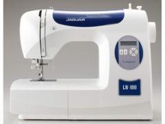 Машины бытовые швейные    Компьютеризированная швейная машина JAGUAR LW-400 (80 строчек, 6 видов петель, нитевдеватель, дисплей)