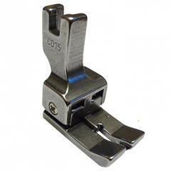 """Лапки для промышленных швейных машин   Лапка двухсторонняя компенсационная 1.6 мм CD 1/16"""""""