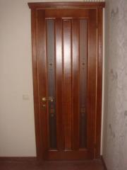 Модели из натурального дерева межкомнатные двери
