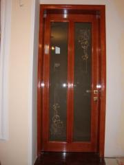 Модели современного дизайна межкомнатные двери на
