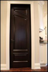 Двери межкомнатные коричневые