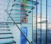 Glass ladders of SWISSSTEP