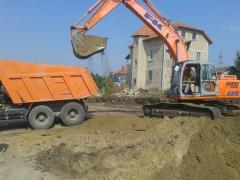 JSB 4CX  Servicii buldoexcavator