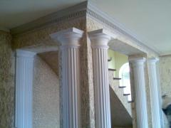 Columns plaster from Androni-Lex Srl