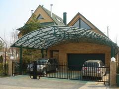 Canopies for a car