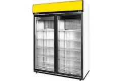 Шкаф холодильный со стеклянными дверями COLD серия