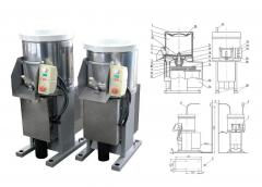 DINOX MOK-150M and IOC-300M potato peeler