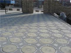 Плитка тротуарная, плитка вибро-литая
