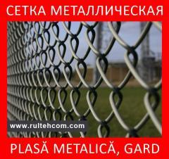 Metal gauze. Fences. Columns. Wire. Gard. Plasa