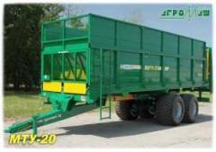 Машина для внесения твердых органических удобрений