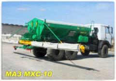 Chemicalixation car self-propelled MHS-10