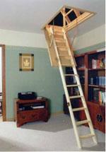 Garret step-ladder