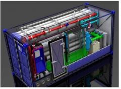 Станции водоочистки контейнерного типа