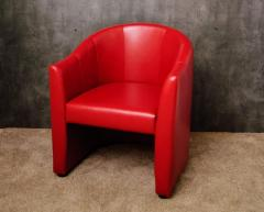 Dali series chair, red