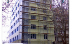 Bricklayer's scaffold of LSPR-200