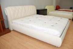 Bed dvuspalny with the orthopedic basis