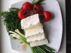 Sheep cheese in Chisina